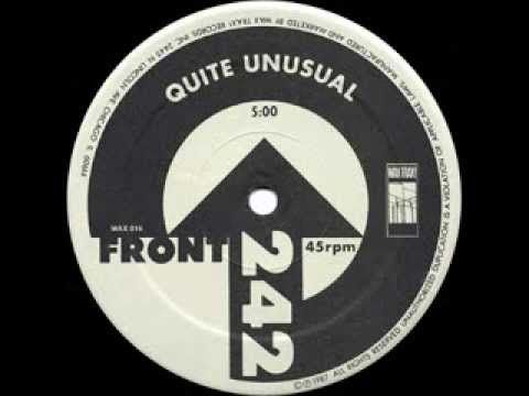 """Front 242 - Quite Unusual 12"""""""