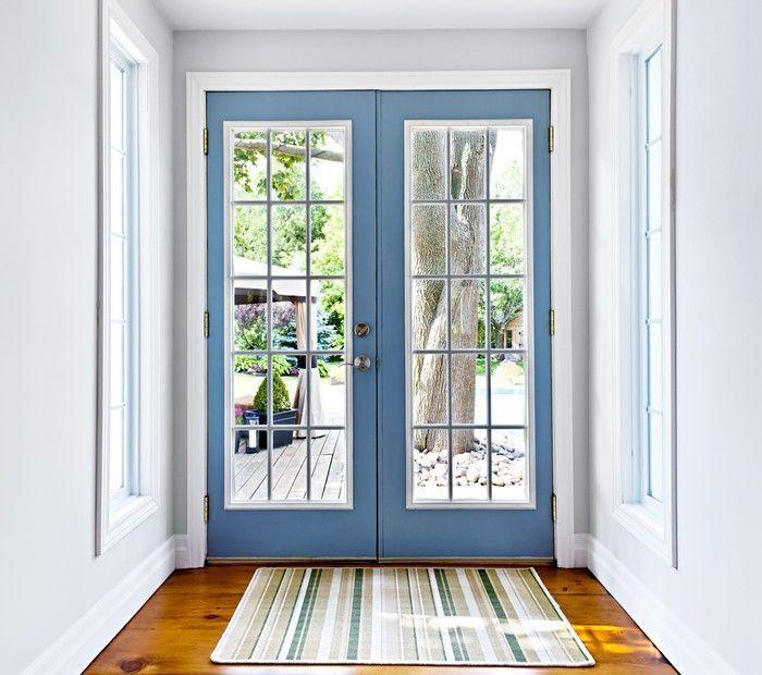 French Patio Glass Door Wall Mural Pixers We Live To Change Change Door French Glass Insta Indoor Door Mats French Doors Interior French Doors Patio