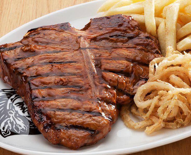 Spur T-Bone Steak: Generous in size and taste. https://www.spur.co.za/menu/steaks/