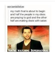 Image result for funny tumblr posts supernatural