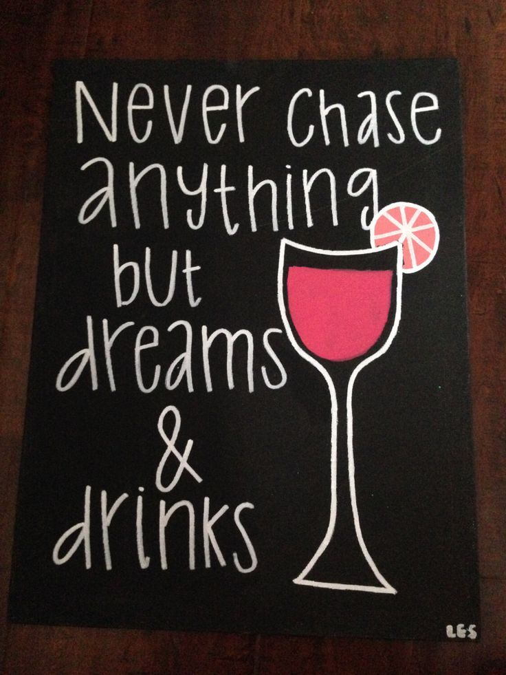 A personal favorite from my Etsy shop https://www.etsy.com/listing/451285632/fun-canvas-craft-with-quote-never-chase