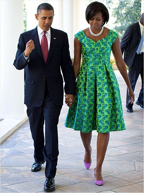 First Lady Style Michelle Obama: 2009 to Present  http://www.ivillage.com/first-ladies-fashion-and-style-through-years-0/5-b-514322