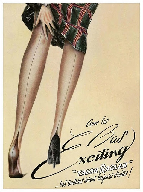 Dutch pantyhose ads
