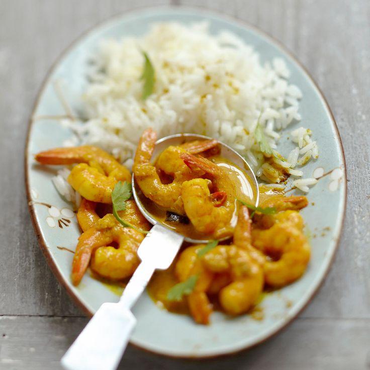 Riz Aux Crevettes Curry Et Coco Recipe Thermomix And Food - Cuisine actuelle fr