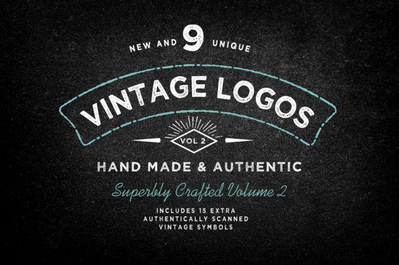 Vintage Logo Template Bundle Vol 2 by Nicky Laatz on Creative Market