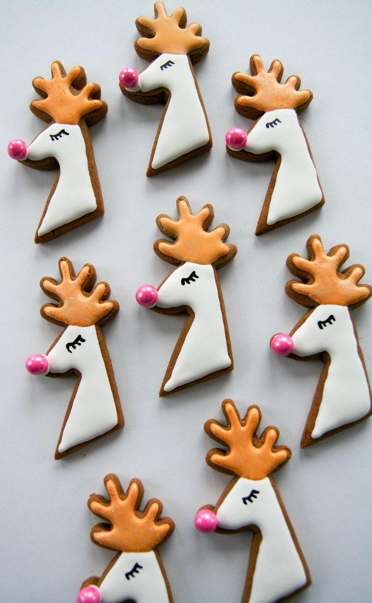 Gilded gingerbread cookies