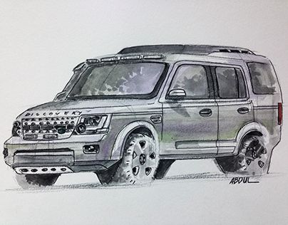 """Check out new work on my @Behance portfolio: """"Land Rover - Discovery"""" http://be.net/gallery/43490181/Land-Rover-Discovery"""