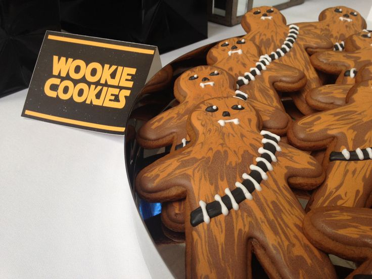 Star Wars Cookies Chewbacca Wookie Cookies Eat My