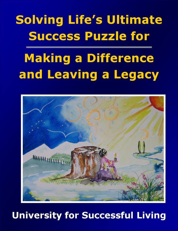"Making a Difference and Leaving a Legacy will help you discover new ways to think and act that will make a real difference in the world and help you leave a legacy. This interactive ""how to guidebook"" includes insightful self-discovery exercises that will help you identify your areas of passion and bring them into greater fruition. Benefiting others will become second nature as you enjoy the journey of living an empowered and empowering life."
