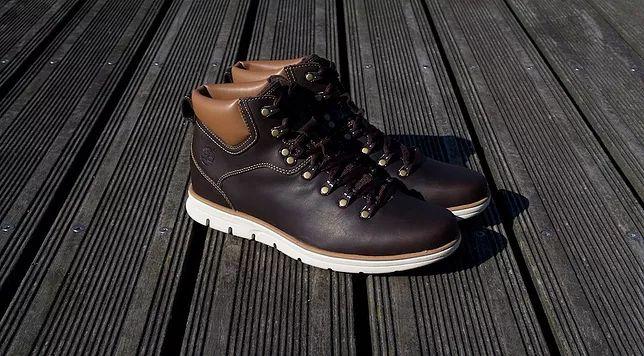 Chaussures Timberland Bradstreet Alpine Hiker marron, des baskets inspirées des chaussures de randonnée avec une semelle Sensorflex ultra légère