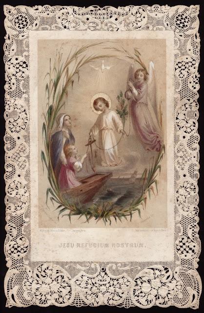 282 Best Vintage Prayer Cards Images On Pinterest Prayer