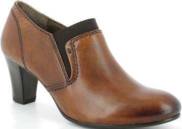 Caprice női bőr magassarkú cipő