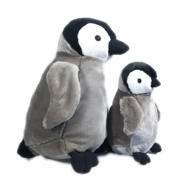 Emperor Penguin Chick 9in 22cm Plan L Large Penguin Soft Toy By