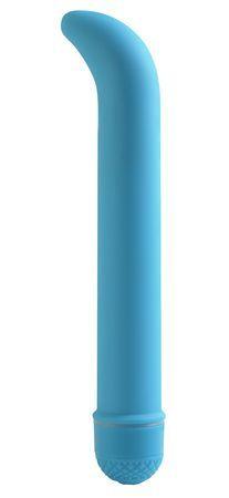 Neon luv touch g-spot - blå fra NEONLuvTouch - Sexlegetøj leveret for blot 29 kr. - 4ushop.dk - Få det helt rigtige strejf af tilfredshed med denne utrolige Neon vibrator. Beklædt med den super silkebløde Luv Touch belægning, denne kraftfulde multispeed vibrator har et ergonomisk formet spids til fantastisk g-punkt stimulation.
