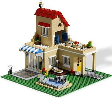 Cool Lego House Instructions Images