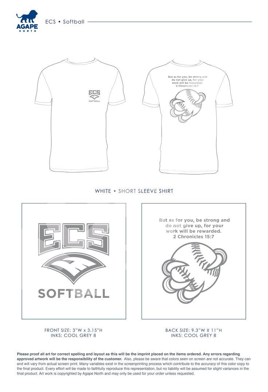 Agape North: Custom Apparel that Gives Back. #softball