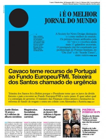 i newspaper, Portugal