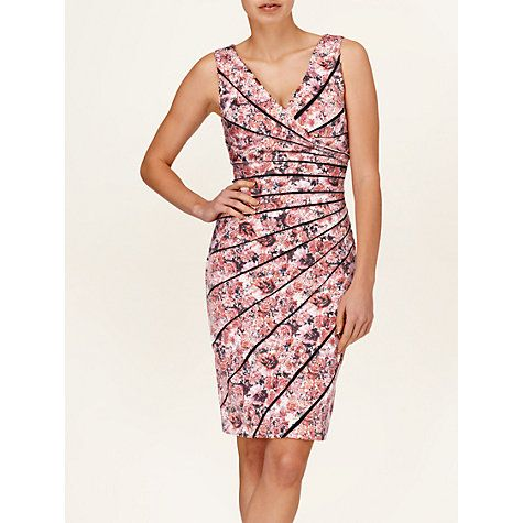 Buy Phase Eight Elenor Print Dress, Multi/Pink Online at johnlewis.com
