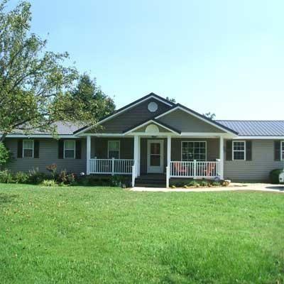 19 mejores im genes de exterior remodeling of ranch homes for Casa tipo ranch