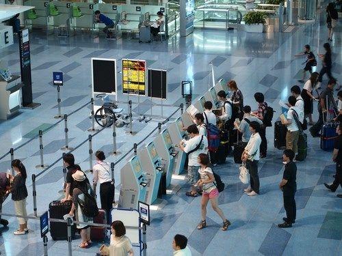 4. De internationale luchthaven van Tokio, Japan <br> Aantal: bijna 73 miljoen reizigers in 2014.