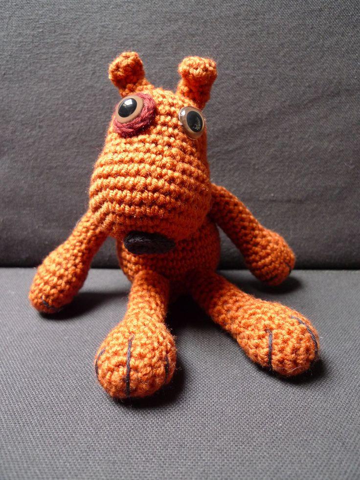 Amigurumi crochet. Perrito Mateo