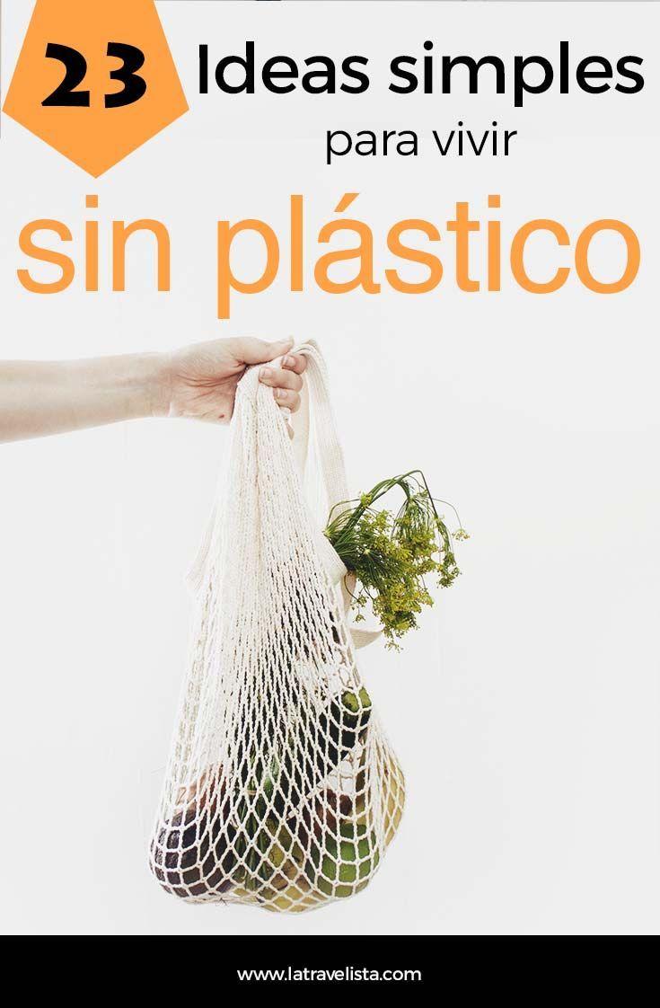 ¿Cómo vivir sin plástico? Te explico 23 formas FÁCILES de reducir el consumo de plástico este 2019. Súmate al residuo cero. Reduce Reuse Recycle, Diy Recycle, Recycling, Pollution Free Diwali, Pollution Prevention, Eco Green, Organic Beauty, Natural Living, Zero Waste