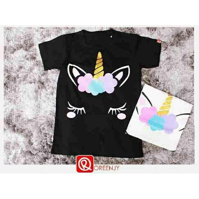 Saya menjual Kaos wanita / unicorn tee / kaos lengan pendek / size Allsize seharga Rp40.000. Dapatkan produk ini hanya di Shopee! https://shopee.co.id/ssfashionkaos/660875525 #ShopeeID