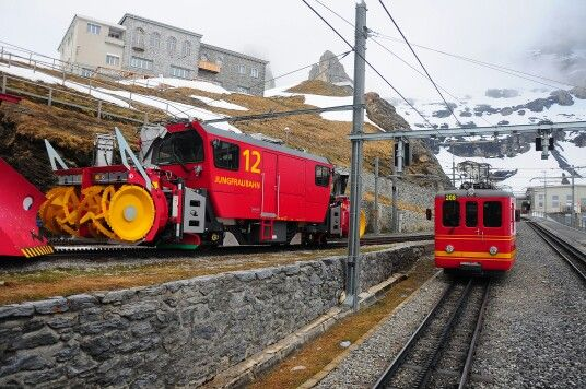 Our ride to Jungfraujoch.