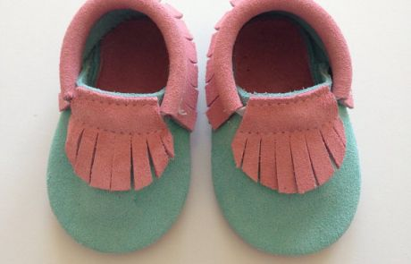 Just Posted New Moccasins at BabyMoccasinsShoes.com  (Candy Suede Baby Moccasins)
