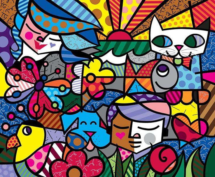 Britto Garden by Romero Britto