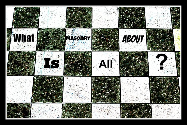 What is Masonry all about?