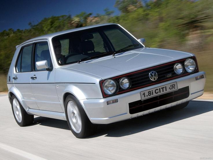 South African VW Golf Citi R 18i VW