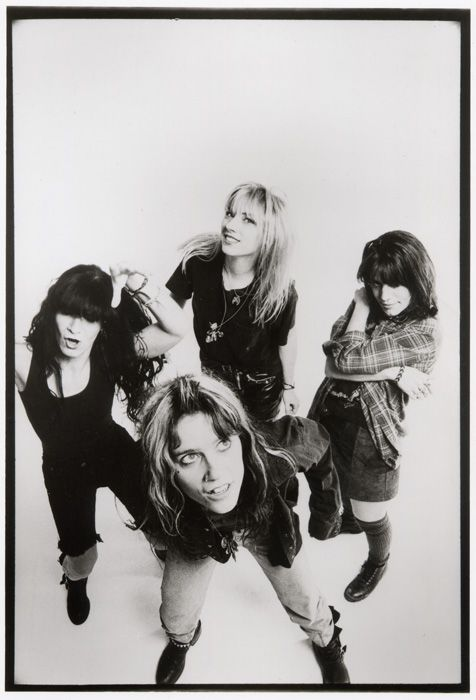 L7 (I sort of wanted to be them when I was 14. Or Brenda Walsh. Either would have been fine.)
