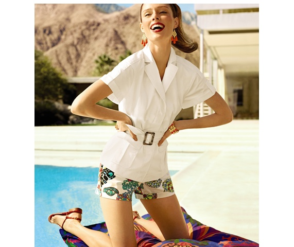 Cool Trina Turk collection for Banana Republic