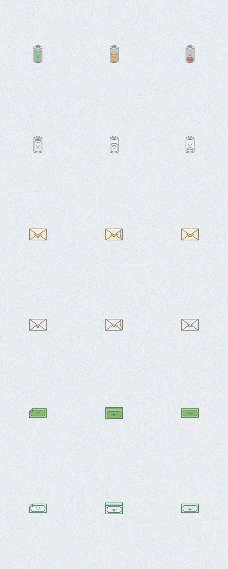 set of emotion icons vol.2 - oxygenna