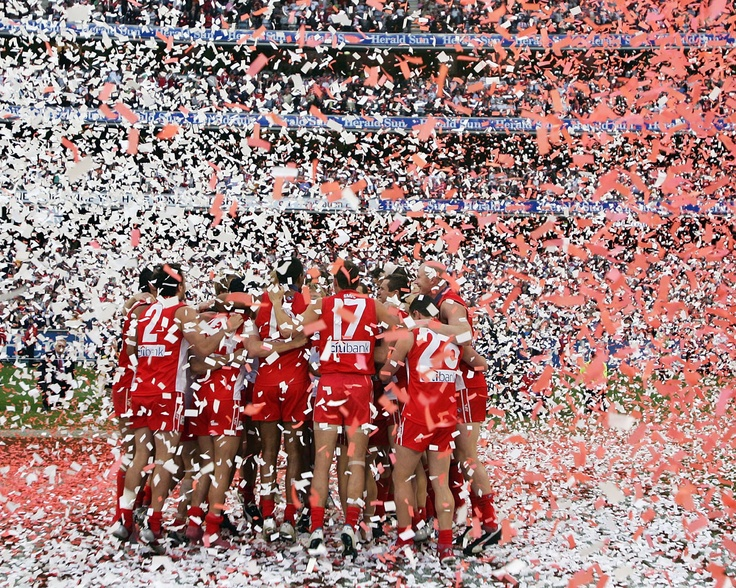 Download Sydney Swans wallpaper, 'celebration sydney swans'.