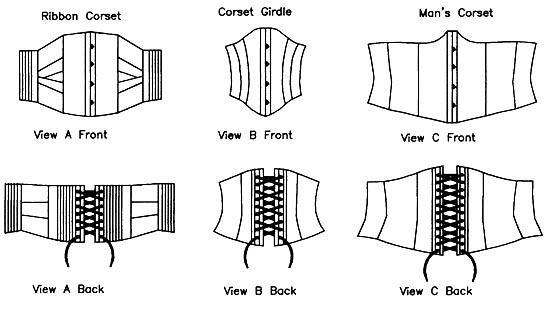 underbust corset pattern