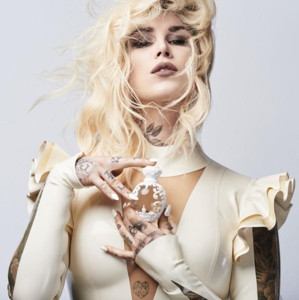 Kat Von D Relaunches Saint & Sinner, Eight Years Later (2017) {New Fragrances} {Celebrity Perfumes}