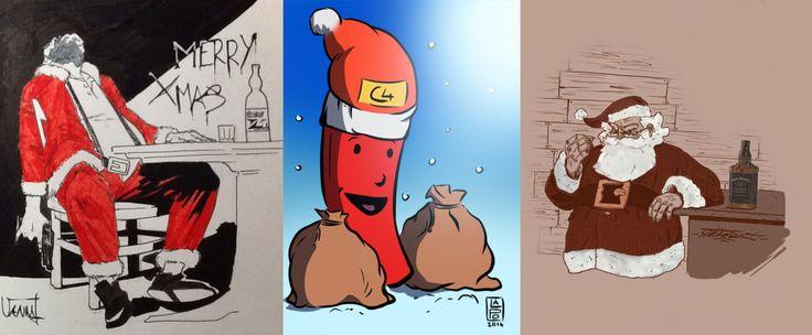 L'inverno è arrivato. Le festività natalizie sono alle porte. Come ogni anno c'è la corsa frenetica all'ultimo regalo o la ricerca - http://c4comic.it/2014/12/22/three-4-comic-buon-natale/