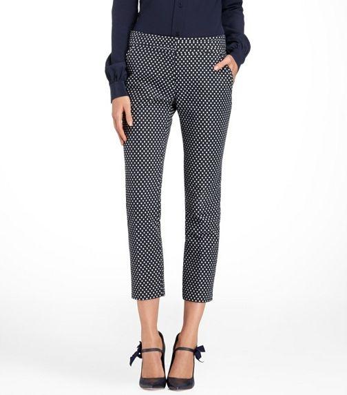 Owen Jacquard Dot Pant | Womens Sale | ToryBurch.comDots Pants, Fashion Style, Burch Dots, Tory Burch, Pants Toryburch Com, Jacquard Dots, Burch Owens, Owens Jacquard, My Style