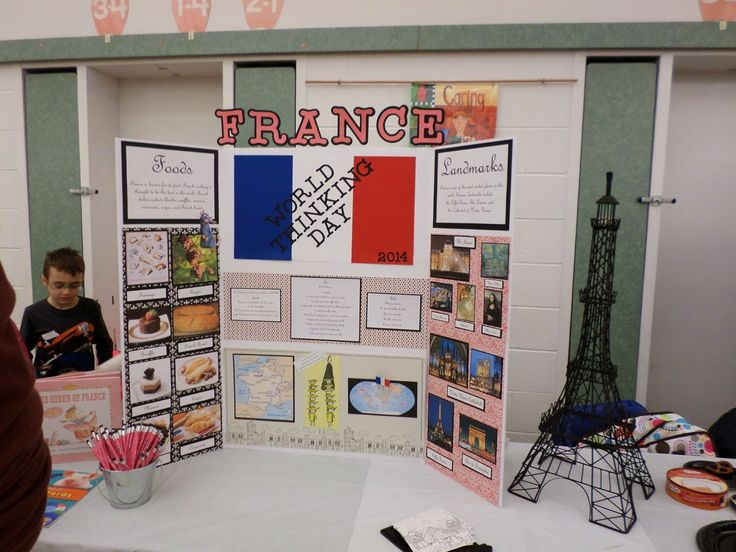 Mally's Reviews and Ideas: World Thinking Day-France