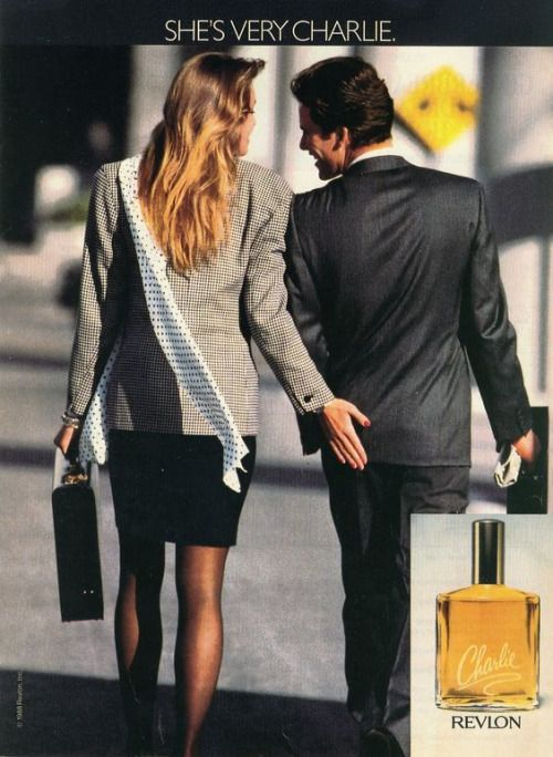 Fuck Yeah Nostalgic Beauty Products, Grab the booty girl. Revlon Charlie perfume ad,...