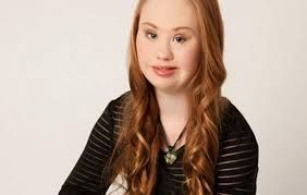 true beauty doesn't exist in make up <3 Madeline Stuart a beautiful model with down sydrome