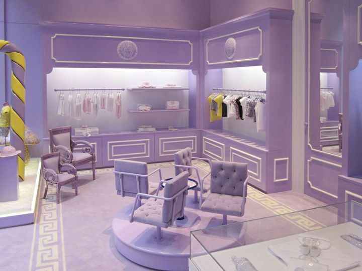 Young Versace 1st boutique, #Milan #store #design #mode: Young Versace, Kids Stores, Stores Design, Kids Boutiques, Interiors Design, Interiors Boutiques, Retail Stores, Stores Interiors, Baby Bottle