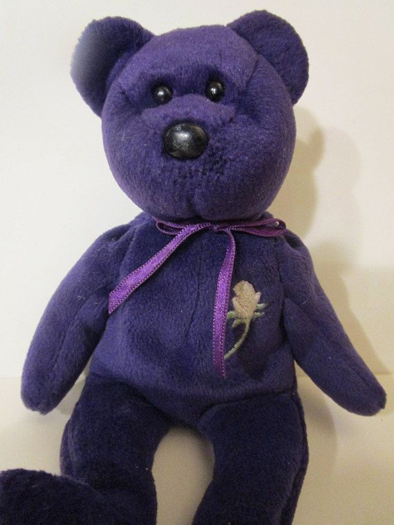 Princess Diana Ty Beanie Baby Pe Pellets Without Tag Memorabilia