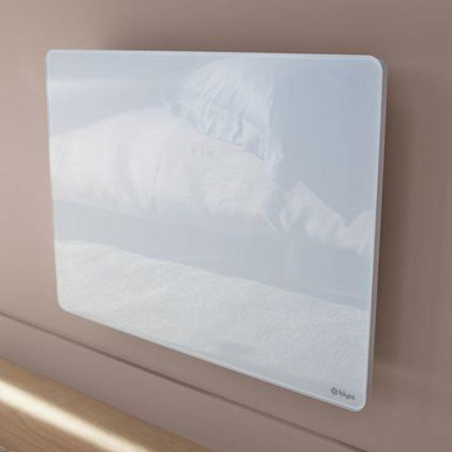 100€ Panneau rayonnant BLYSS Skii Blanc - CASTORAMA