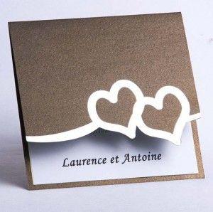 faire part mariage coeur chic tendance pas cher originale JM127  #weddinginvitations #weddingcards #joyeuxmariage