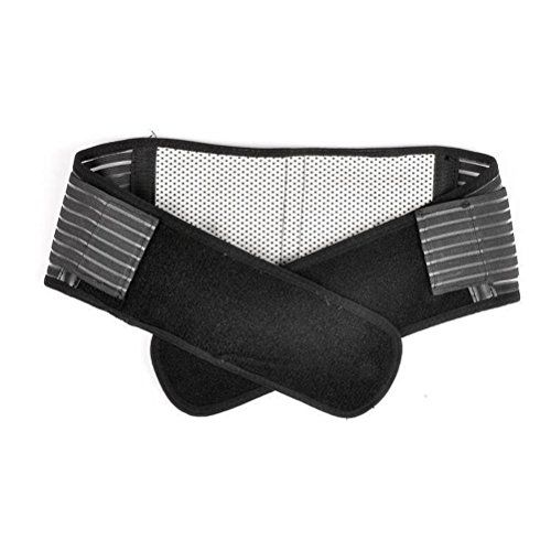 Tinksky Portable Adjustable Elastic Infrared Self-heating Magnetic Therapy Back Waist Support Lumbar Brace Belt Double Pull Strap Lower Pain Massager - Size M (Black) Tinksky http://smile.amazon.com/dp/B00RB0SD1K/ref=cm_sw_r_pi_dp_Ac4Yvb0P28R6A