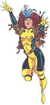 Rogue - The original costume from the series that began in 1991