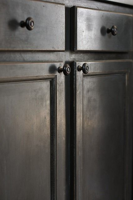 Gray paint, The cabinet and Tudor on Pinterest